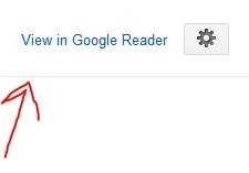 Import Followed Blogs into Google Reader