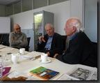 Kurt Petzold und Gregor Schömig mit Matthias Wiedemann im Pressegespräch