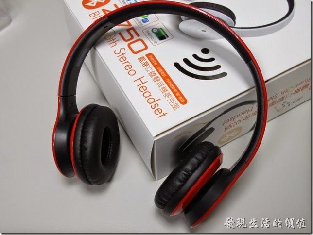 感覺上Hawk Z750耳機的質感還不錯。
