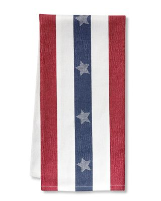 These napkins are a wonderful addition to your 4th of July party.  (williams-sonoma.com)