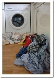 Laundry backlog