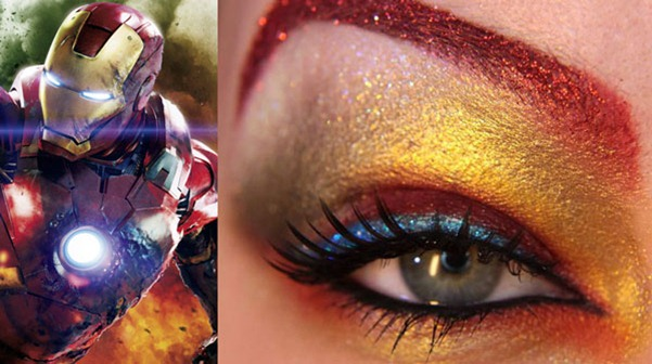 the-avengers-eye-makeup-jangsara-iron-man