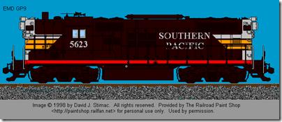 SP GP9 5623