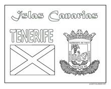 TENERIFE ESCUDo Y BANDERA JUGARYoLREAR 1 1