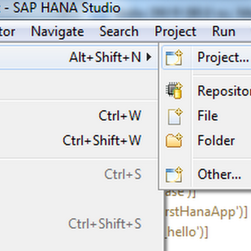 A Simple HANA Application with OData services
