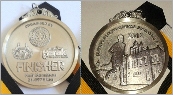 Taiping International Marathon 21k Medal