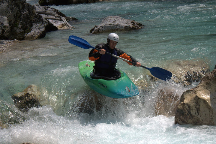 Adam styling one of the rapids