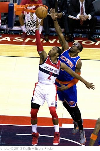 'John Wall, Amar'e Stoudemire' photo (c) 2013, Keith Allison - license: http://creativecommons.org/licenses/by-sa/2.0/