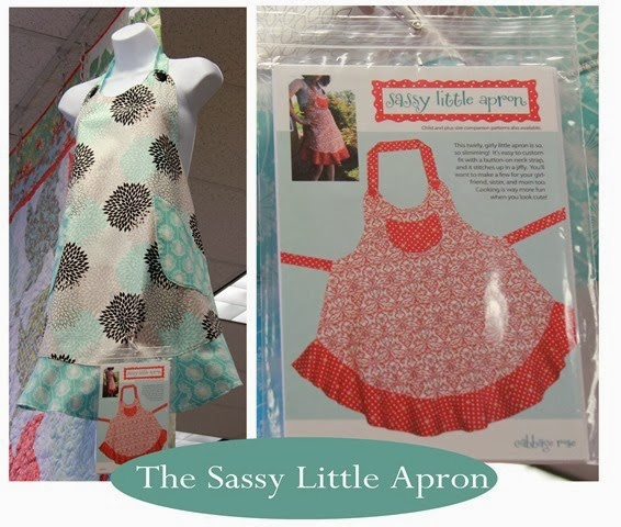The Sassy Little Apron and pattern!