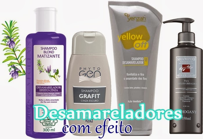 melhores shampoos Desamareladores