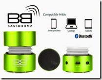 Bassboomz Portable Speaker - More Colours