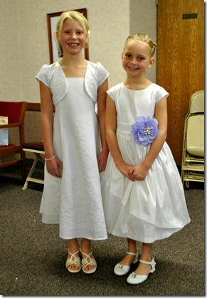 Halle and Riley on their special day