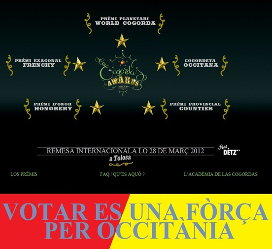 cogordas awards 2012