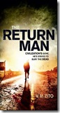 book cover of The Return Man by V.M. Zito
