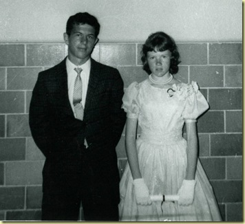 Russell came to my 8th grade grad Russellville may 1961