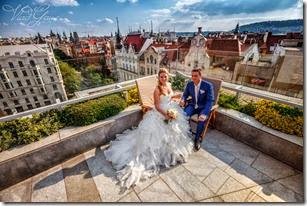 Свадьба в Праге центр города - фотограф Владислав Гаус