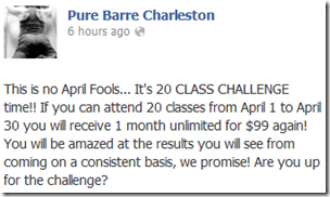 Pure Barre & Pure Food