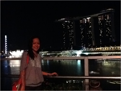 The Lantern, overlooking Marina Bay