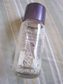 etude house flower treatment nail polish remover, bitsandtreats