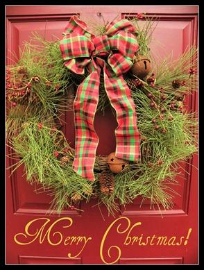 Merry Christmas Door