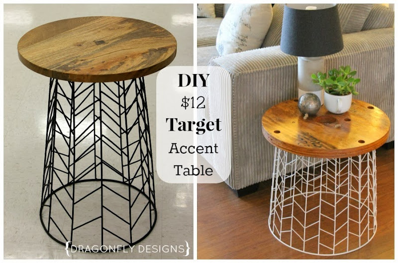 DIY Target Accent Table