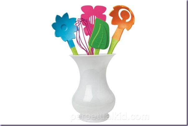 Vaso-Flores-Utensílios-Cozinha