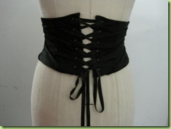 peter soronen corset belt rear view