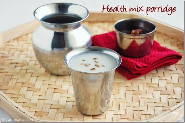 Health mix porridge