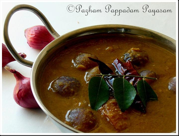 Ulli/shallots sambar