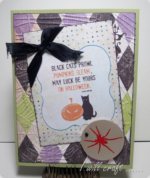 havestampswillcraft black cats prowl card