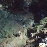 Bukit Sarangの洞窟の中へ / Into the cave at Bukit Sarang