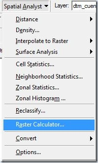 F2. Raster Calculator