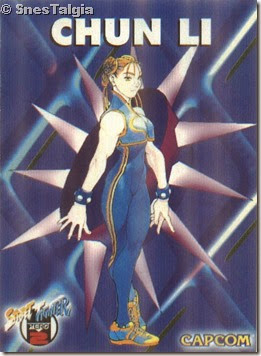 Chun Li 1 - Card Street Fighter Zero 2