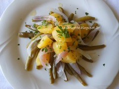 lcdr insalata di fagiolini, patate e cipolle