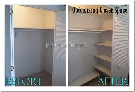Custom Closet Shelving Tutorial