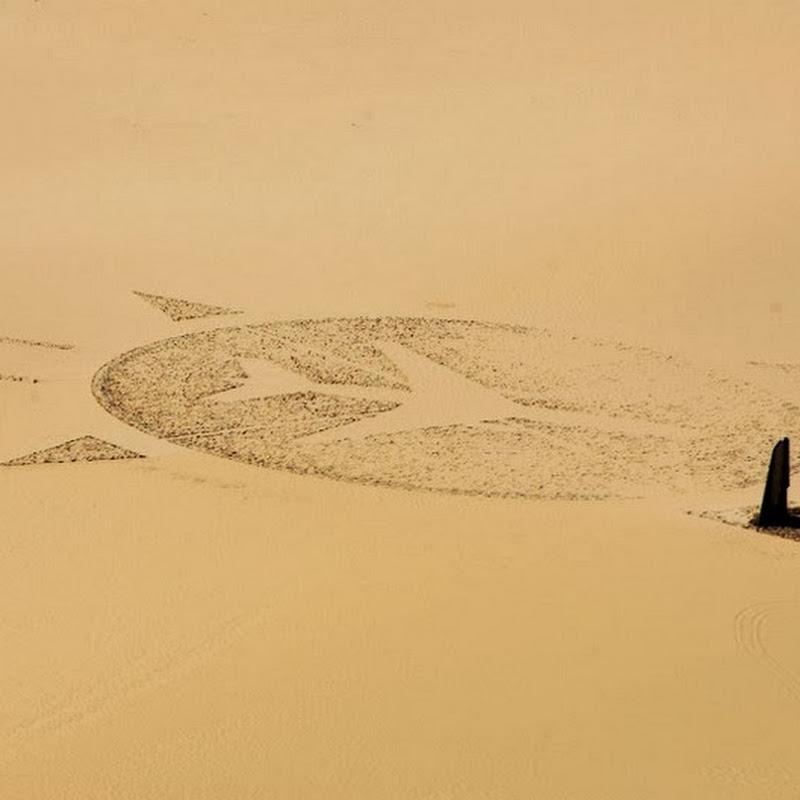 UTA Flight 772 Memorial in the Middle of the Sahara