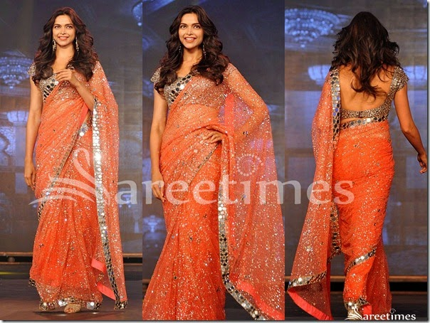 Deepika_Padukone_Orange_Embroidery_Saree(1)