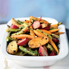 Roasted Baby Spring Vegetables