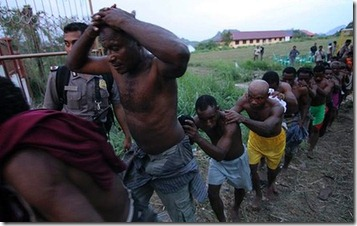 Arrests at Papuan Peoples Congrees