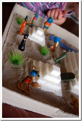 Egypt Sensory Bin ~ Our Aussie Homeschool