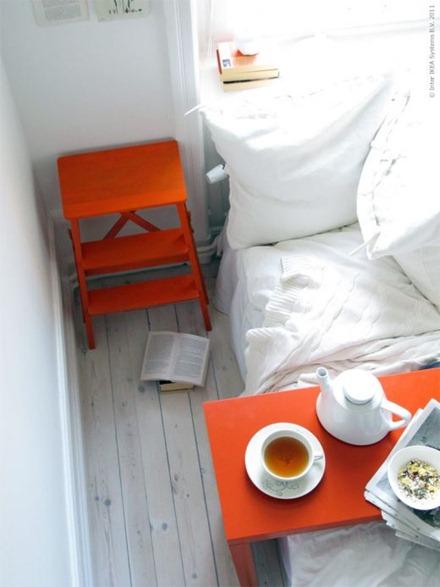 Orange accent, IKEA