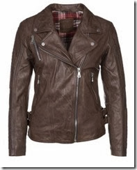 Korintage Brown Leather Jacket