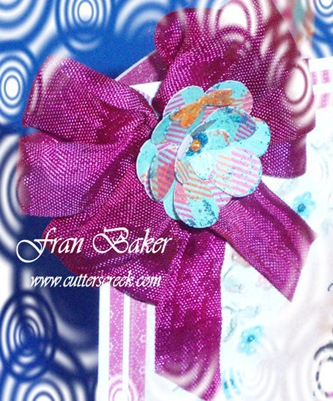 Ribbon and Flower Close-up