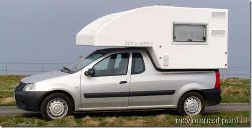 Dacia Logan Pick Up als Camper 02
