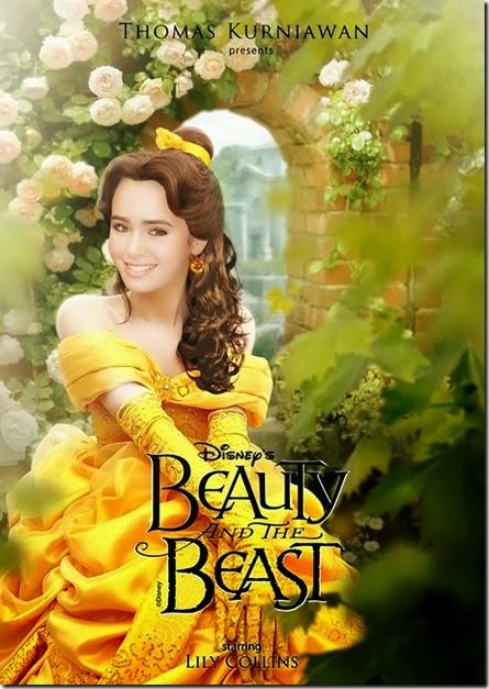 Lily Colins como Bella