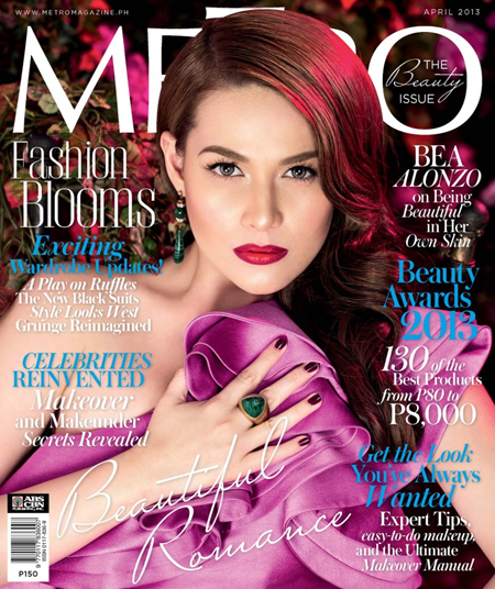 Bea Alonzo - Metro April 2013