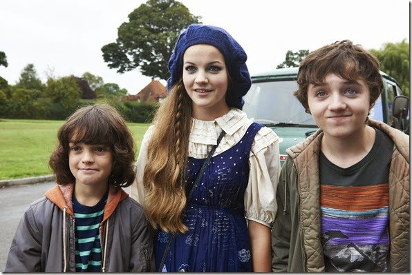 Malachy Knights, Izzy Meikle, Spike White in PUDSEY THE DOG MOVIE  (1)