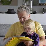 Silje får læst Peter Pedal af onkel Kurt (Moster Lisesmand)