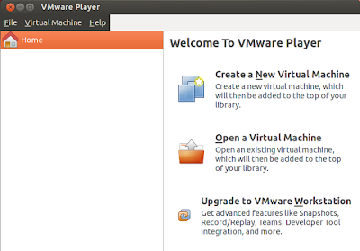 VMware Player 5.0.1