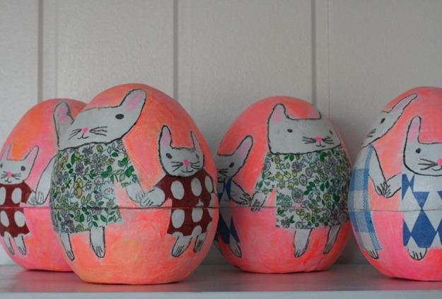 marstein påskeegg kaniner